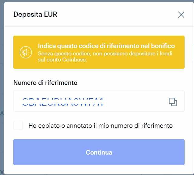 si può depositare bitcoin nel tuo conto bancario