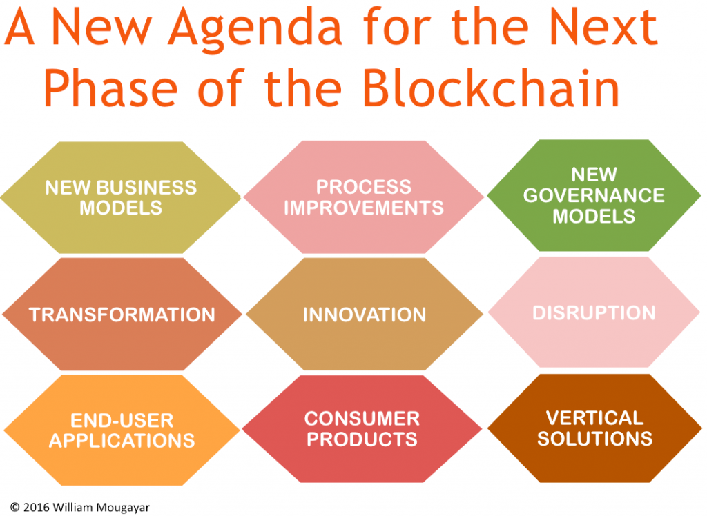New Agenda for Next Phase of Blockchain