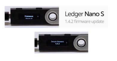 Aggiornare il Ledger Nano S alla versione 1.4.2