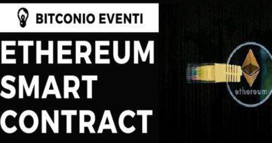 BITCONIO EVENTI: ETHEREUM E SMART CONTRACT INCONTRO PUBBLICO SABATO 23 GIUGNO.