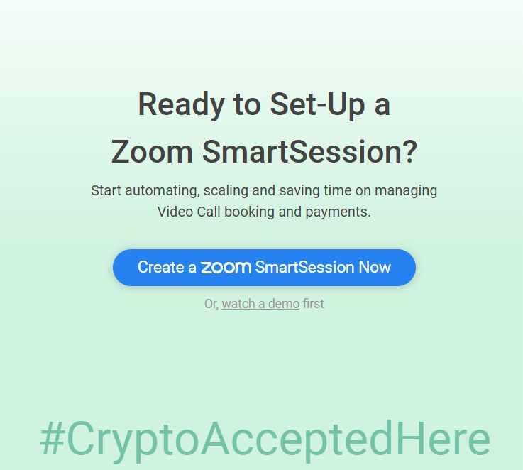 Usa la app 2key integra semplicemente in Zoom e fatti pagare per le tue conferenze e i tuoi meeting