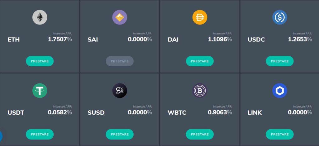 Fulcrum investire denaro crypto e guadagnare interessi